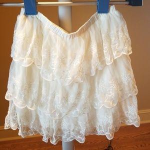 Teen girls holiday skirt